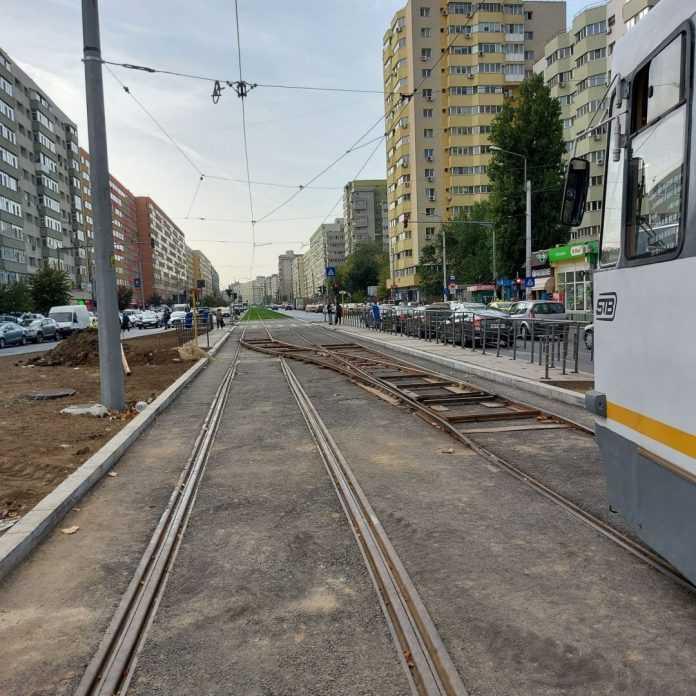 tramvaie suplimentare buclă de întoarcere a tramvaielor