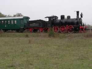 locomotiva cu aburi 1493 la Mogoșoaia
