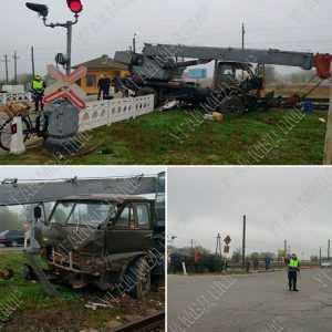 accident la trecerea căii ferate