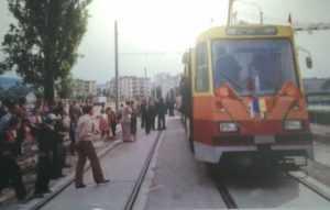 primul tramvai electric din Cluj-Napoca
