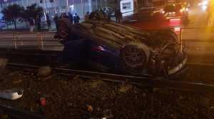 accident pe linia tramvaiului 41