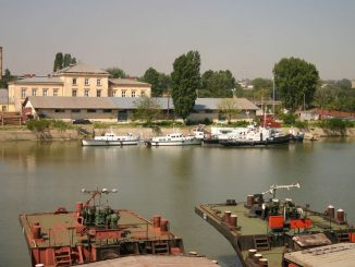 sistemul feroviar din Portul Calafat