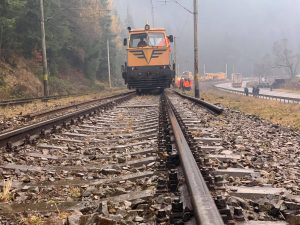cale ferată reabilitată