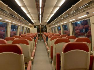 primele trenuri la Aeroportul Otopeni