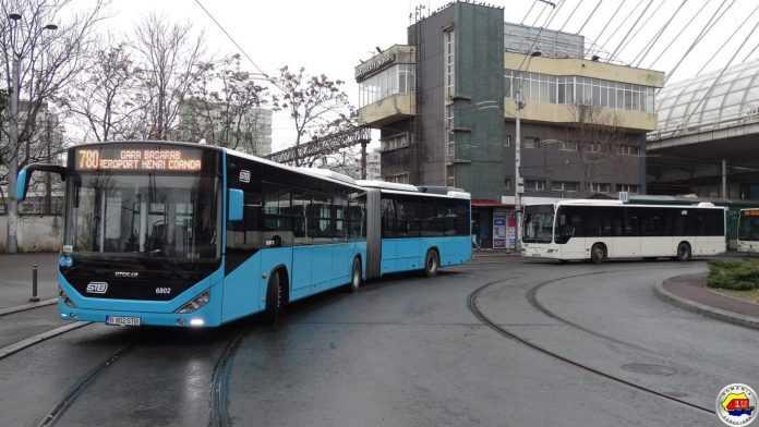 autobuzul 780 la Aeroportul Otopeni