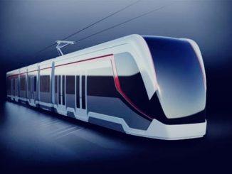 licitația de tramvaie de 18 m tramvai nou în București