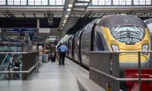 grăniceri francezi în trenurile Eurostar