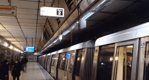 inundație la metrou