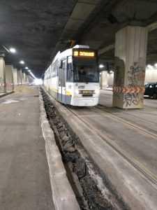 greva la metrou subvențiile pentru transport stație de tramvai din Pasajul Victoriei