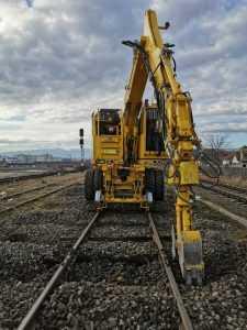 mentenanță la calea ferată