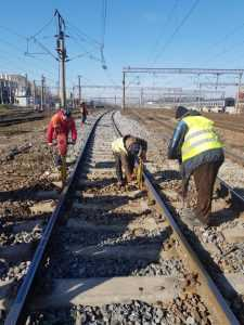 majorarea salariului minim întreținere pe linia ferată Buzău-Făurei ridicarea restricțiilor de viteză BVC CFR SA pe 2021 reparații la calea ferată