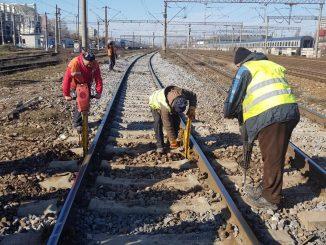 întreținere pe linia ferată Buzău-Făurei ridicarea restricțiilor de viteză BVC CFR SA pe 2021 reparații la calea ferată