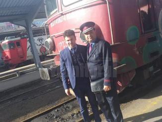 tren de la Suceava la București