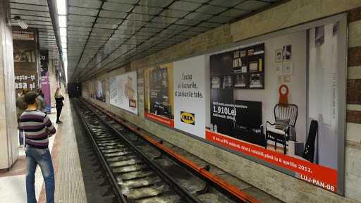 dezinfecție la metrou