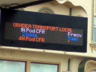afișaj electronic în stațiile OTL