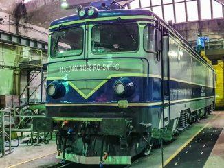 reparații la locomotivele CFR Călători