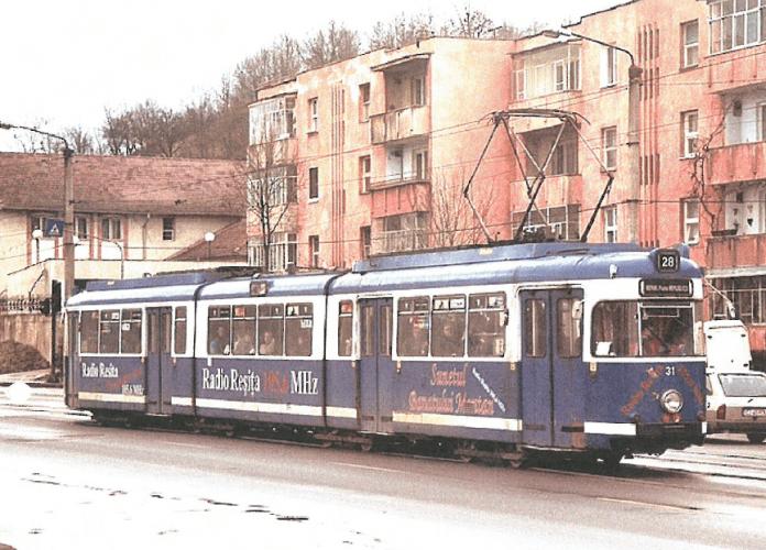 infrastructura de tramvai din Reșița