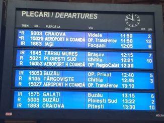 trenurile de Aeroport