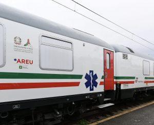 tren sanitar în Italia