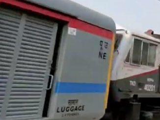 tren de pasageri din India