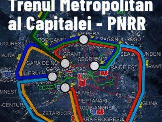 Trenul lui Nicușor Dan trenul metropolitan București