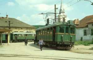 prima cale ferată electrificată