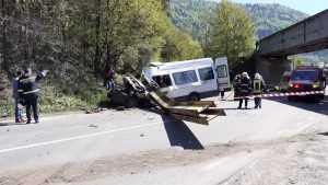 Accident la un pasaj de cale ferată
