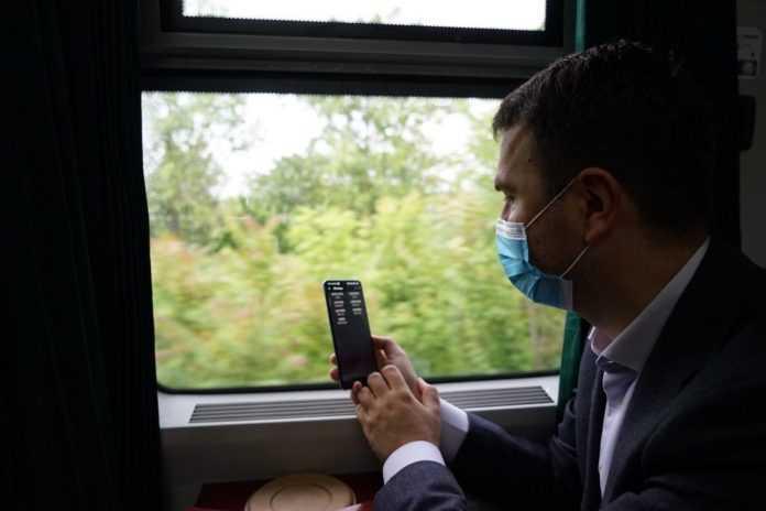cu trenul la G7