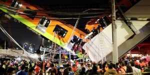 accident de metrou în Mexic