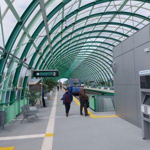 trenurile de aeroport primele trenuri la Patinoar PO