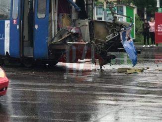 coliziune TIR-tramvai la Iași