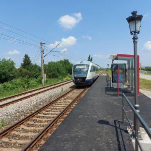 trenuri București Nord-Parc Mogoșoaia PO Parc Mogoșoaia europeron la Parc Mogoșoaia