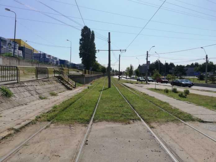 alimentarea electrică a tramvaielor din Craiova tramvai către uzina Ford