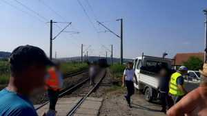 accident în gara Apahida