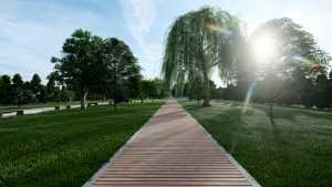 parc pe Strada Liniei