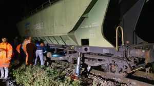 reluarea circulației feroviare la Fetești