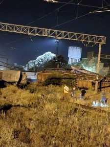 accidentul feroviar de la Fetești