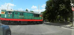 trecerea cu calea ferată