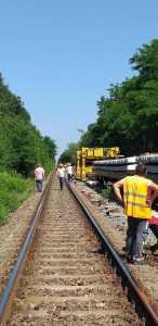 licitația pentru utilaje grele de cale consolidarea liniei ferate Bacău-Piatra Neamț consolidarea terasamentului căii ferate pe M600
