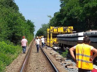consolidarea liniei ferate Bacău-Piatra Neamț consolidarea terasamentului căii ferate pe M600