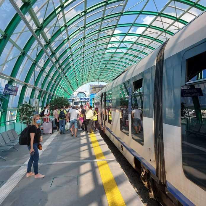 trenurile de Aeroport bilete cu cardul în tren bilete la trenul de Otopeni