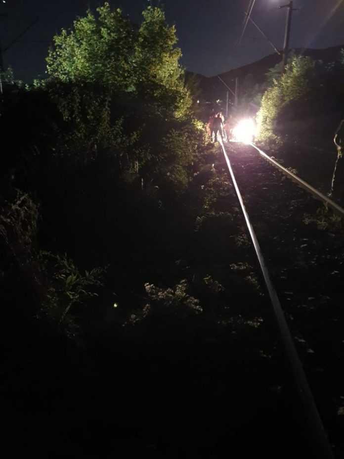 cale ferată reparată