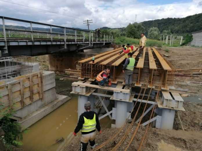 pod nou de cale ferată pe M400