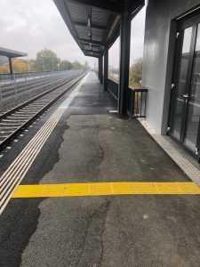 Cea mai nouă stație feroviară