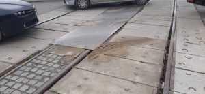 trecere la nivel cu calea ferată